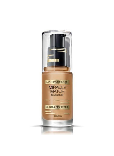 Max Factor Miracle Match Foundation 80 Bronze Ten